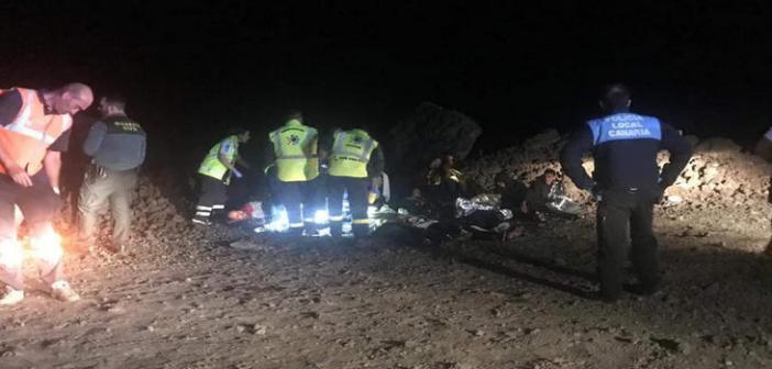 Lanzarote: Flüchtlingsboot erreicht die Insel » 24 Kilo Haschisch gefunden