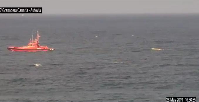 Notlandung auf Gran Canaria » Boot vor Las Palmas gekentert