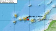Kanaren: Erdbeben der Stärke 3,1 zwischen Gran Canaria und Teneriffa