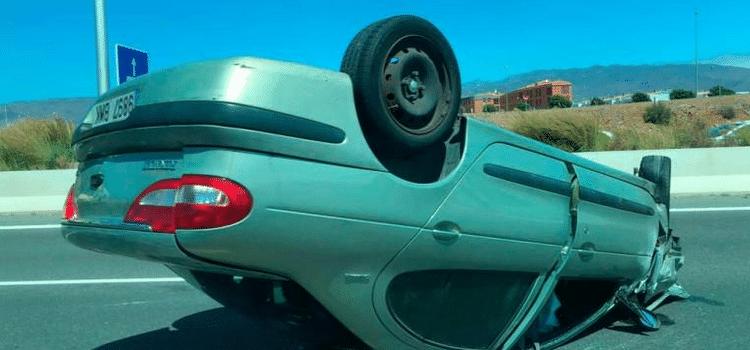 Gran Canaria: Pkw überschlug sich » Mehrfach-Kollision auf der Autobahn