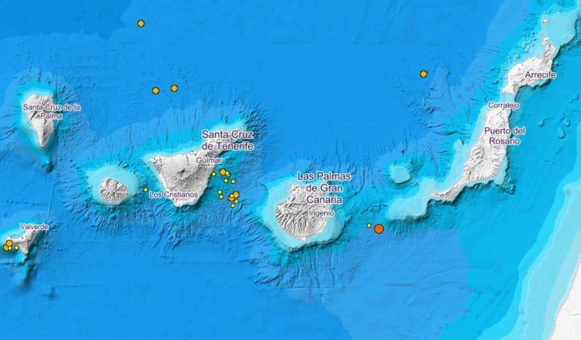 Erdbeben Gran Canaria