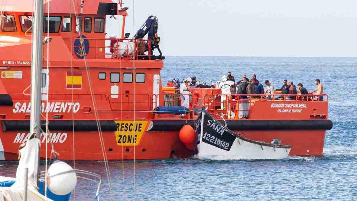 Kanaren » 20.090 Migranten auf 672 Booten – in 11 Monaten