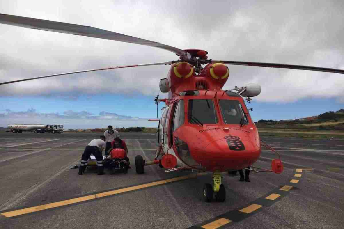 Wanderin auf Teneriffa per Heli gerettet